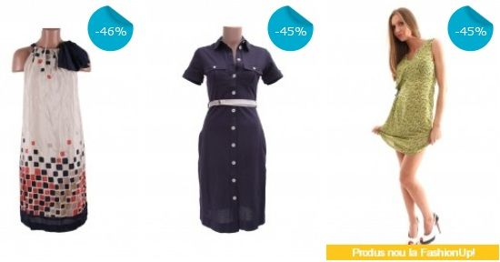 Reduceri de 50 procente la rochii Mango
