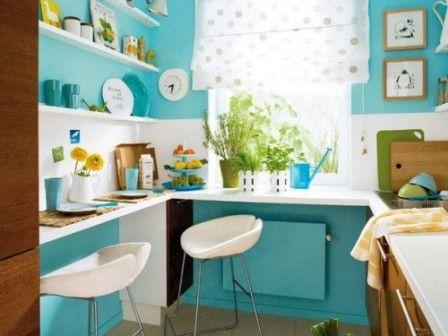 Modele de decorare pentru bucatarii mici