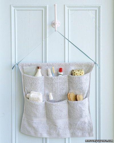 folositi suporturi textile cu buzunare pentru usa