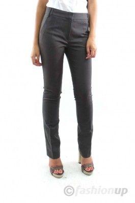Pantaloni maro drepti MANGO
