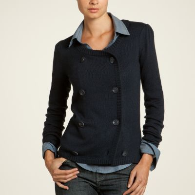 Cardigan casual stil military