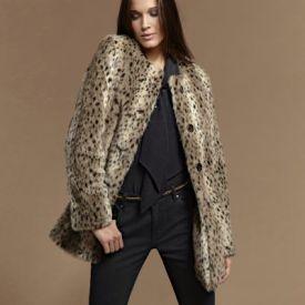 Palton de femei PREMIUM din imitaţie de blană