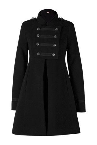 Palton negru de iarna Michael Jackson. CLICK pe poza pentru a cumpara!