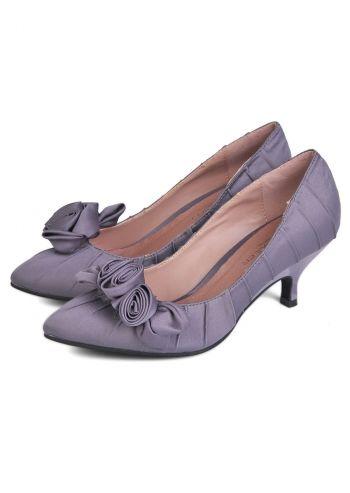 Paula Soler, Beautiful Roses Gray Shoes