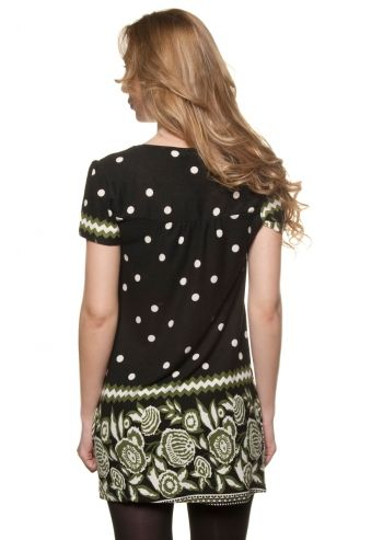 Ada Gatti, Delightful Day Black&Fern Dress poza 2