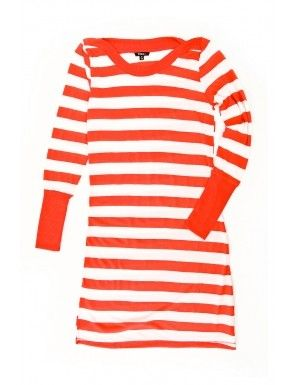Bluza rochie TINAR in culoare tangerine tango