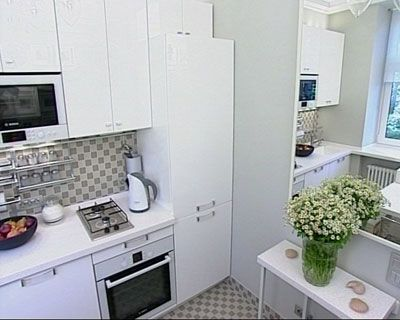 O bucatarie mica perfect incapatoare si functionala - Very small kitchen design photos ...