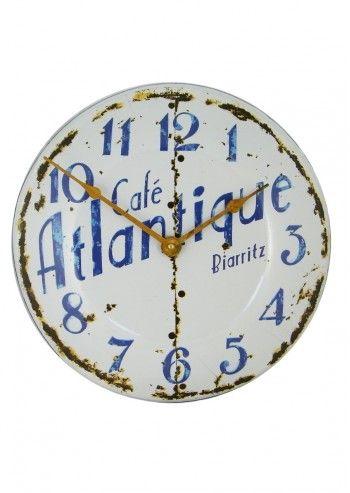 Roger Lascelles, French Biaritz Enamel Clock