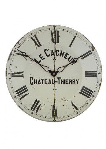Roger Lascelles, Le Cacheur Chateau Thierry White Clock