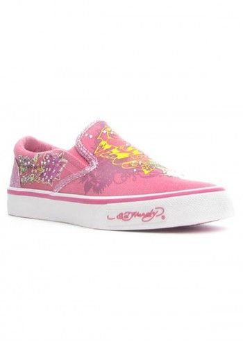 Ed Hardy, Kids Daphine Pink Espadrilles