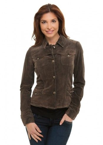 Trussardi Jeans, Trully Gorgeous Brown Velvet Jacket