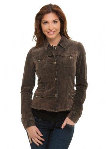 Trussardi Jeans, Trully Gorgeous Brown Velvet Jacket
