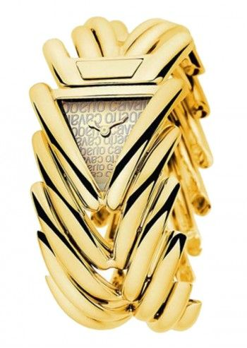 Roberto Cavalli, Woman Golden Extravagance Watch