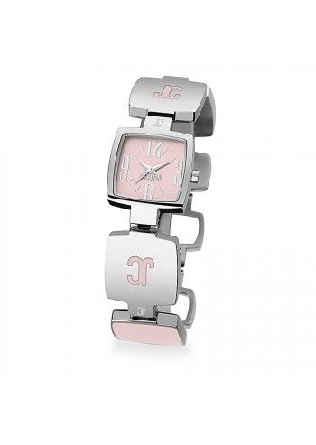 Just Cavalli, Woman Silver&Pink JC Light Watch