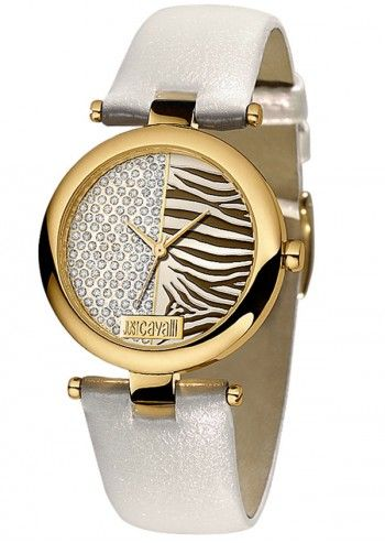 Just Cavalli, Woman Double Tones Beige Watch