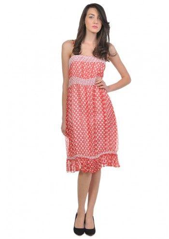 Love Moschino, Woman Heart Shaped Red Dress