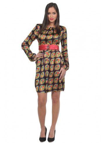 Desigual, Woman Stefani Satin Dress