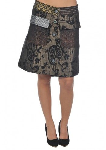 Desigual, Woman Baroque Patterns Skirt