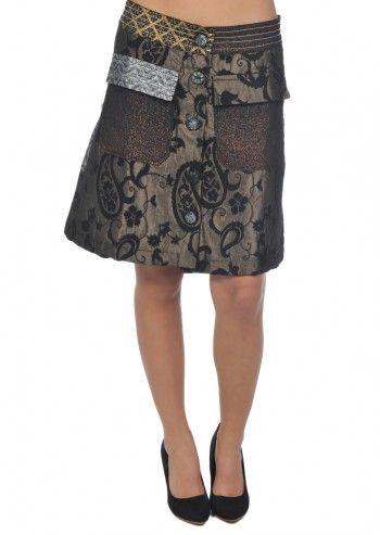 Desigual, Woman Baroque Patterns Skirt