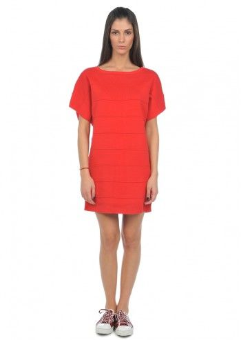 Alexander McQueen Puma, Woman Sandrine Red Dress