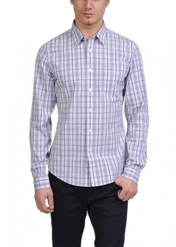 Calvin Klein Jeans, Man Mauvelicious Checked Shirt