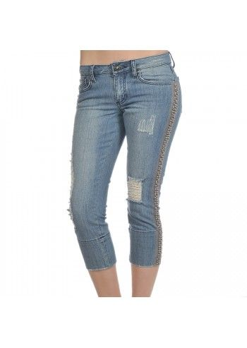 Baby Phat, Grey Beads Jeans