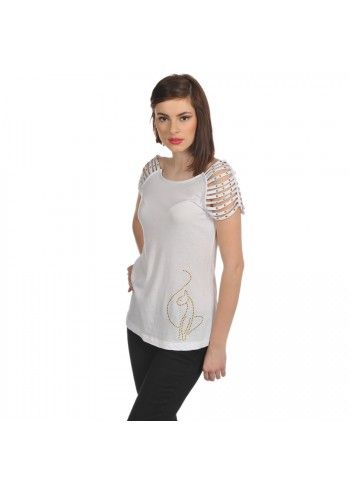 Baby Phat, SWT Tempt White Top