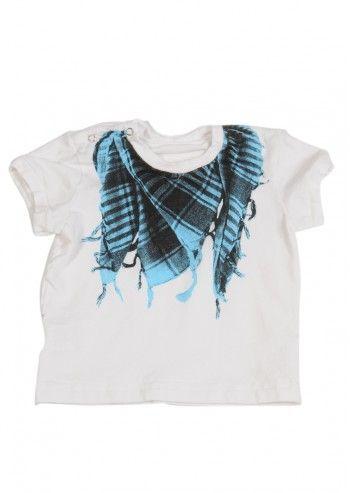 Love Made Love, Girls Scarf White T-shirt