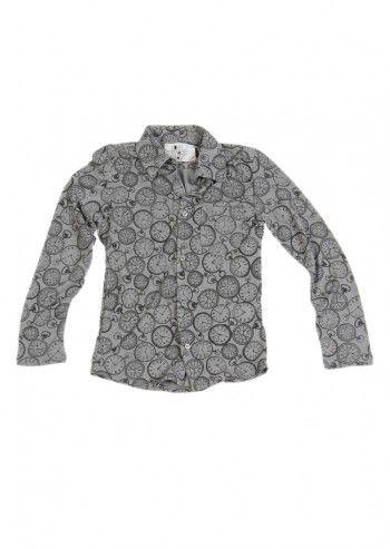 Love Made Love, Boys Clocks Gray Shirt