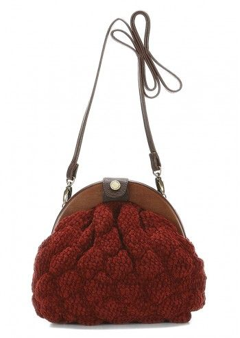 Abbacino, Morganti Dark Red Cocktail Bag