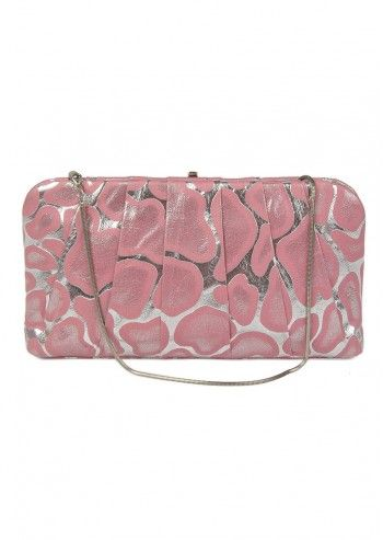 Abbacino, Mega Cocktail Silver&Pink Shoulder Bag