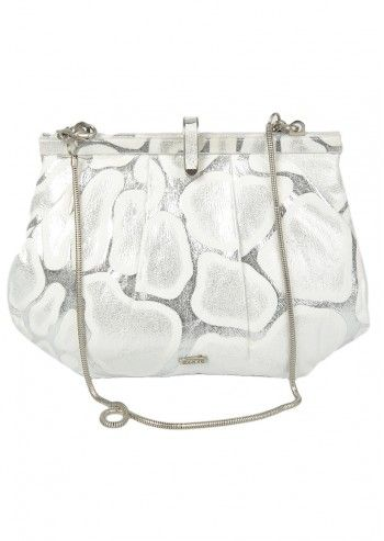 Abbacino, Cocktail Silver&White Shoulder Bag