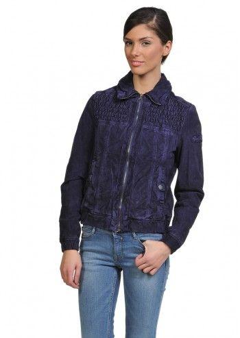 Tom Tailor, Woman Lena Amethyst Violet Suede Jacket
