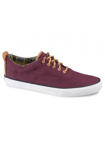 Keds, Man Melange Burgundy Sport Shoes