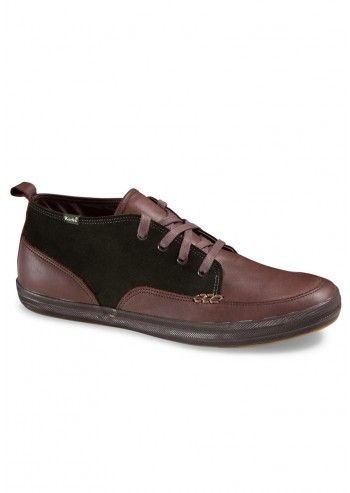 Keds, Man Polica Brown Leather Sport Shoes