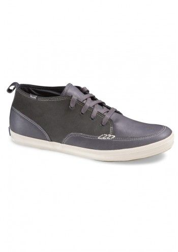 Keds, Man Polica Gray Leather Sport Shoes