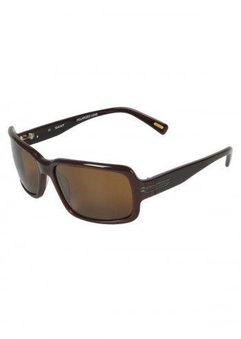 Gant, Unisex Brown Delice Sunglasses