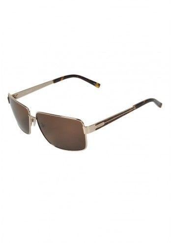 Gant, Unisex Fashion Brown Sunglasses