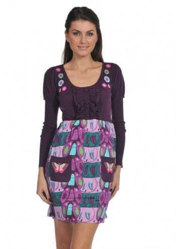 Rosalita McGee, Bering Sandra Violet Dress