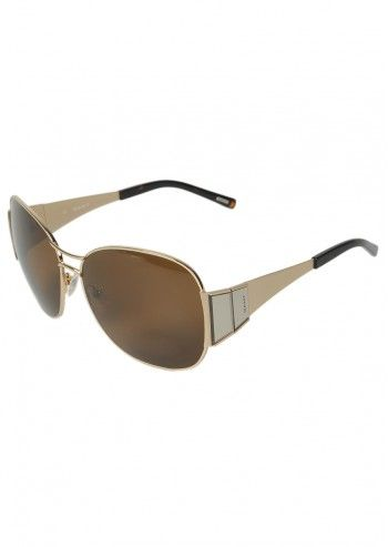 Gant, Unisex New Perspective Golden Sunglasses