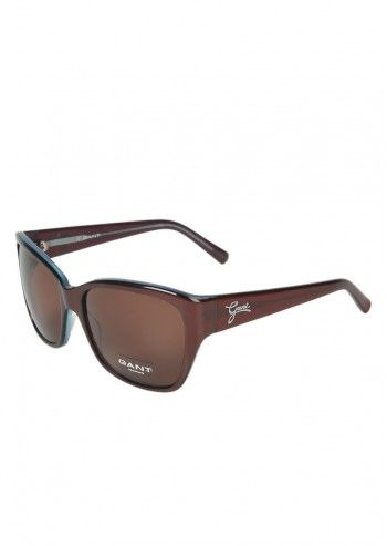 Gant, Unisex Raasy Brown Sunglasses