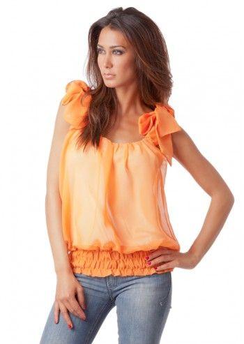 Violette, Zora Orange Top