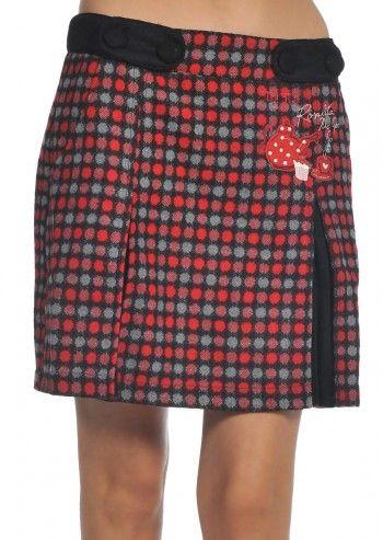 Rosalita McGee, Meadow Red Dotts Skirt