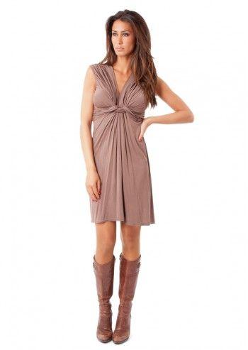 Violette, Lea Taupe Dress