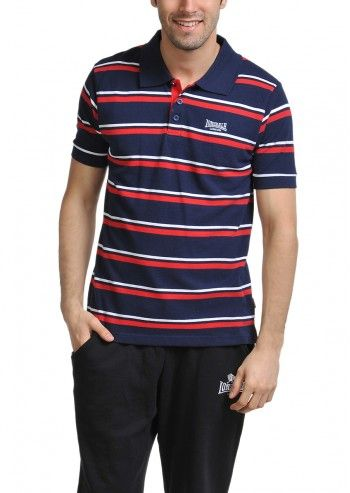 Lonsdale, Man Barny Navy Polo T-shirt