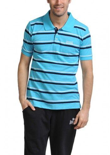 Lonsdale, Man Barny Aqua Polo T-shirt