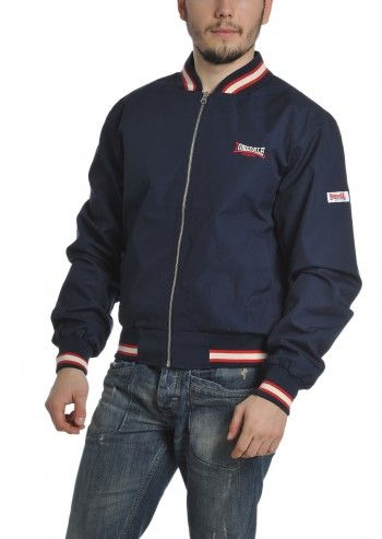 Lonsdale, Man Spider Slim Fit Navy Jacket