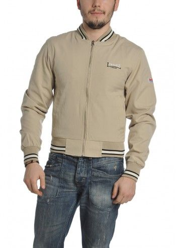 Lonsdale, Man Sandy Beige Jacket