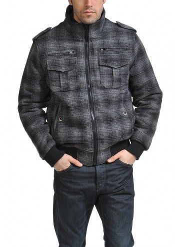 Lonsdale, Man Hawley Gray Jacket