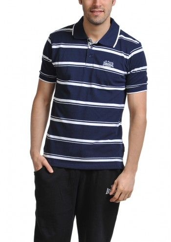 Lonsdale, Man Brody Navy Polo T-shirt